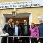 Besuch Noller Schlucht